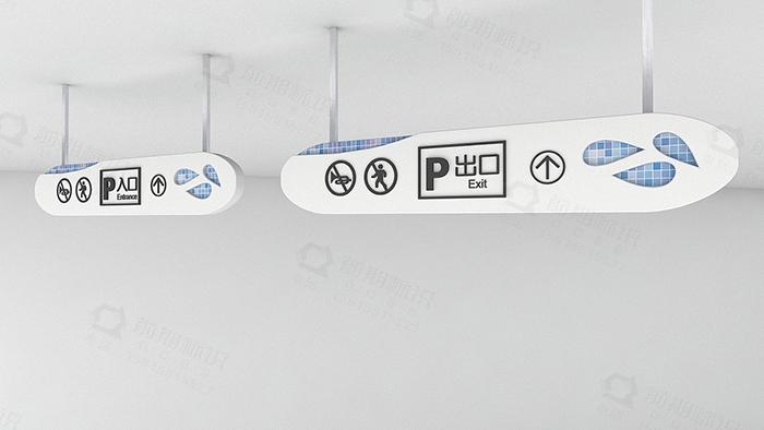 商场导向标识,导向标识设计,商场标识