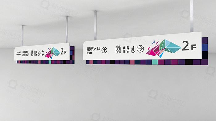 商场标识标牌,商场导视系统