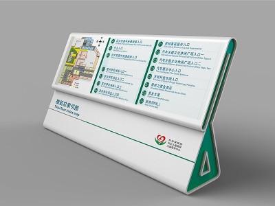 医院标识系统中位置引导牌的作用