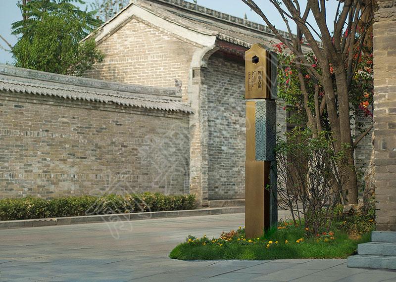 郑州标识牌厂家分享:景区导视系统设计的原则有哪些