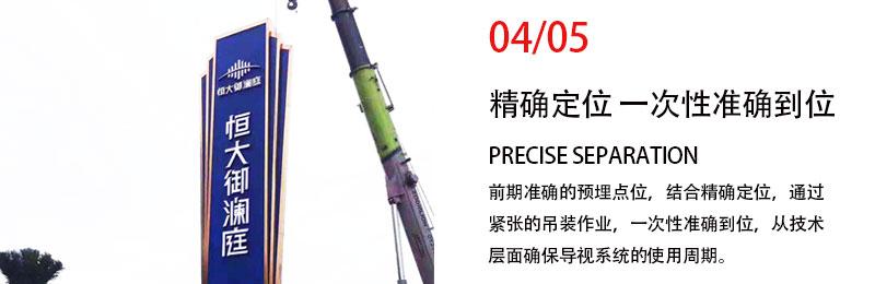 前期标识为正弘城提供商业标识标牌产品