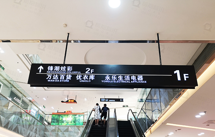 商场导向标识系统,导向标识设计