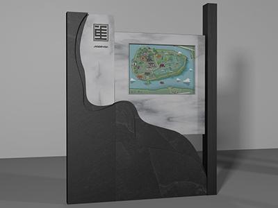 标识厂家浅析景区导向标识系统的作用